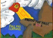 Image of Plaque Fall 2011 pledge class Phi Mu Delta - Plaque