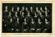 Image of Photograph Bluffton College Glee Club