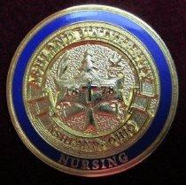 Image of Ashland University nursing pin. - Nursing pin