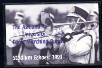 Image of Cassette tape box-The Ashland University Eagle Marching Band Stadium Echoes: 1993. - Objects Collection