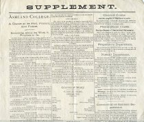 Image of 2012-531879Supplement - Supplement-Ashland College 1879