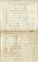 Image of Poem concerning the death of Luisa Troutman 1864.