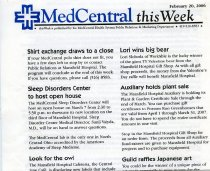 Image of 2011-34PeriodicalMedCenTW - Med Central This Week