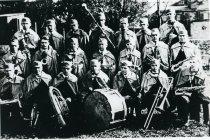 Image of Ashland University, Ashland, Ohio Concert Band 1921.