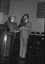 Image of Ashland College, Ashland, Ohio president's cup banquet 1976.
