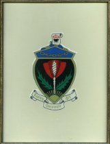 Image of Coat of Arms Kappa Coat of Arms Kappa Omicron Phi Delta Sigma Chapter. - Coat of Arms