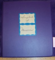 Image of Scrapbook of Memories Ashland University Home Economics for the years 1957