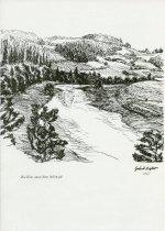 Image of Richter, Helmut views of Schwarzenaue.  - Print