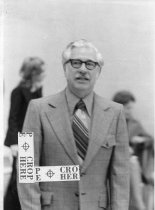 Image of Dr. Glenn L. Clayton, Ashland College president, Ashland, Ohio 1973.