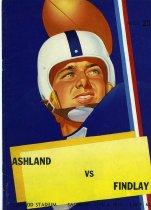 Image of 2011-021952football1004 - Ashland vs Findlay Redwood Stadium Saturday, Oct. 4, 1952 1:30 P.M.
