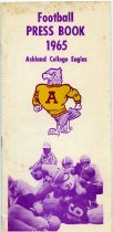Image of 2011-021965footballMediaG - Football Press Book 1965 Ashland College Eagles.