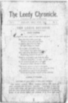 Image of LeedyChronicle - The Leedy Chronicle, 1897 to 1927.