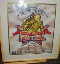 Image of Framed artwork The national Football Foundation and College Hall  copy 2