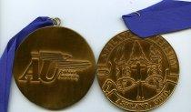 Image of Medal/Award Ashland University seal with Ashland University logo on the reverse side. - Award