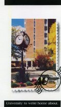 Image of Set of three postcards with images of Ashland University. - Postcard