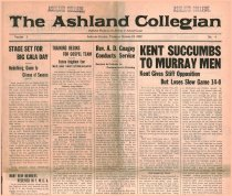 Image of The Ashland Collegian October 19, 1922