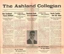 Image of 10-1919230202 - The Ashland Collegian February 2, 1923 Volume 1 Number 14