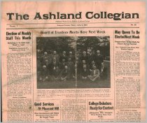 Image of 10-1919230406 - The Ashland Collegian April 6, 1923 Volume 1 Number 22