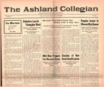 Image of 10-1919230420 - The Ashland Collegian April 20, 1923 Volume 1 Number 24
