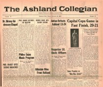 Image of 10-1919240201 - The Ashland Collegian January 18, 1924 Volume 2 Number 13 sic [February 1, 1924 Volume 2 Number 14]