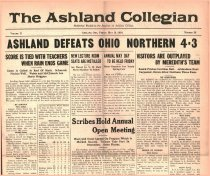 Image of 10-1919240516 - The Ashland Collegian May 16, 1924 Volume 2 Number 28