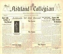 Image of 10-1919241212 - The Ashland Collegian December 12, 1924 Volume 3 Number 11