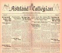 Image of 10-1919250116 - The Ashland Collegian January 16, 1925 Volume 3 Number 13