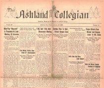 Image of Ashland Collegian January 23, 1925