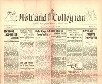 Image of 10-1919261105 - The Ashland Collegian November 5, 1926 Volume 5 Number 7