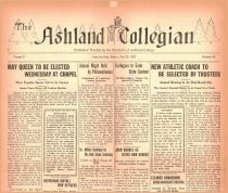 Image of 10-1919270225 - The Ashland Collegian February 25, 1927 Volume 5 Number 18