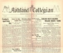 Image of 10-1919270506 - The Ashland Collegian May 6, 1927 Volume 5 Number 27