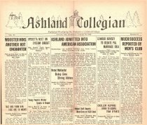 Image of 10-1919280118 - The Ashland Collegian January 18, 1928 Volume 6 Number 14
