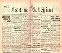 Image of 10-1919280217 - The Ashland Collegian February 17, 1928 Volume 6 Number 17
