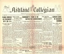 Image of 10-1919280316 - The Ashland Collegian March 16, 1928 Volume 6 Number 21