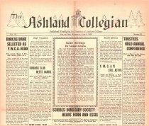 Image of 10-1919280404 - The Ashland Collegian April 4, 1928 Volume 6 Number 23