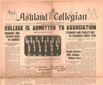 Image of 10-1919300321 - The Ashland Collegian March 21, 1930 Volume 8 Number 23