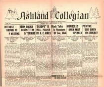 Image of 10-1919301212 - The Ashland Collegian December 12, 1930 Volume 9 Number 10