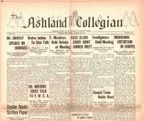 Image of 10-1919310116 - The Ashland Collegian January 16, 1931 Volume 9 Number 13