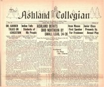 Image of 10-1919310213 - The Ashland Collegian Feburary 13, 1931 Volume 9 Number 16
