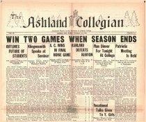 Image of 10-1919310227 - The Ashland Collegian February 27, 1931 Volume 9 Number 18
