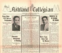 Image of 10-1919310320 - The Ashland Collegian March 20, 1931 Volume 9 Number 21