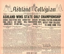 Image of 10-1919310529 - The Ashland Collegian May 29, 1931 Volume 9 Number 29