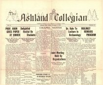 Image of 10-1919320205 - The Ashland Collegian February 5, 1932 Volume 10 Number 15