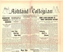 Image of 10-1919320513 - The Ashland Collegian May 13, 1932 Volume 10 Number 23