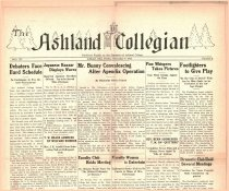 Image of The Ashland Collegian December 9, 1932