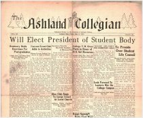 Image of The Ashland Collegian May 12, 1933