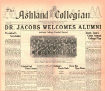 Image of The Ashland Collegian November 3, 1933