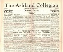Image of 10-1919341221 - The Ashland Collegian December 21, 1934 Volume 13 Number 11