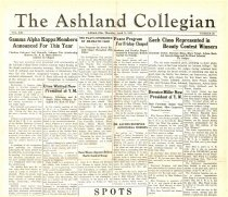 Image of 10-1919350411 - The Ashland Collegian April 11, 1935 Volume 13 Number 20