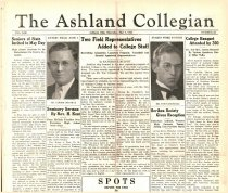 Image of 10-1919350509 - The Ashland Collegian May 9, 1935 Volume 13 Number 23